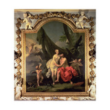 History of Jove and Io Giclée-tryk af Sebastiano Ricci