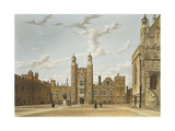 Eton College Great Court, from 'History of Eton College', Part of 'History of the Colleges;,… Giclee Print by William Westall