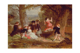 The Swing, 1853 Giclee Print by Frederick Goodall
