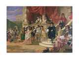 The Fall of Clarendon Giclee Print by Edward Matthew Ward