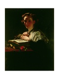 Light Thrown on a Dark Passage Giclee Print by James Sant