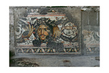 Mosaic Depicting Foliage and a Mask, Byzantine Giclee Print