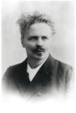 Johan August Strindberg (1849-1912) Photographic Print by  Reutlinger Studio