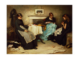 The Song of the Shirt Giclee Print by Frank Holl