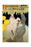Moulin Rouge: La Goulue, 1891 Giclee Print by Henri de Toulouse-Lautrec