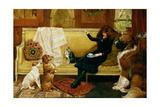 Teatime Treat, 1883 Giclee Print by John Charlton