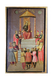 Nebuchadnezzar Questions Daniel and His Companions Giclee Print by  Master of Marradi