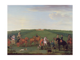 The Beauchamp-Proctor Family and Friends at Langley Park, Norfolk Giclee Print by John Wootton