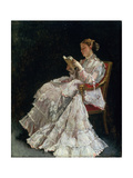 The Reader, C.1860 Giclee Print by Alfred Emile Léopold Stevens