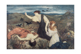 Antigone from 'Antigone' by Sophocles Giclee Print by Marie Spartali Stillman