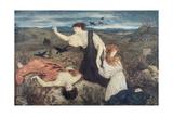 Antigone from 'Antigone' by Sophocles Giclee Print by Marie Spartali Stillman