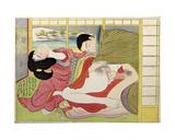 Making Love in Winter Giclee Print by Katsukawa Shuncho