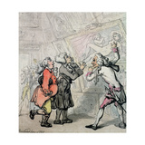 Englishmen Viewing Pictures on the Grand Tour, 1790 Giclee Print by Thomas Rowlandson