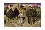 The Penitence of St. Jerome, 1444 Giclee Print by Sano Di, Also Ansano Di Pietro Di Mencio Pietro