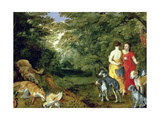 Diana after the Hunt Giclee Print by  Jan II Brueghel and Jan van Balen