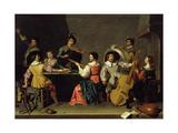 Group of Musicians Giclee Print by Jan van Bijlert or Bylert