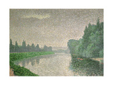 The Marne at Dawn, 1888 Giclee Print by Albert Dubois-Pillet