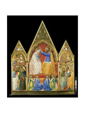 Coronation of the Virgin Giclee Print by Allegretto Nuzi