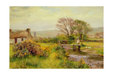 Ballaugh, Isle of Man Giclee Print by Henry John Yeend King