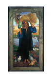 The Afterglow in Egypt, 1854-63 Giclee Print by William Holman Hunt