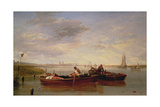 The Thames Below Greenwich, C.1827 Giclee Print by Sir Augustus Wall Callcott