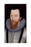 Robert Devereux, 2nd Earl of Essex (1566-1601) Giclee Print by Marcus, The Younger Gheeraerts