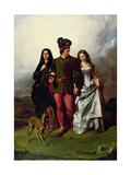 The Cruel Sister, 1851 Giclee Print by John Faed