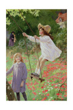 The Swing Giclee Print by Percy Tarrant