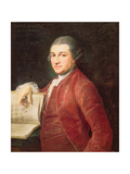 Portrait of David Garrick, 1764 Giclee Print by Pompeo Batoni