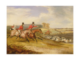 Full Cry, Bachelor's Hall, 1835 Giclee Print by Francis Calcraft Turner