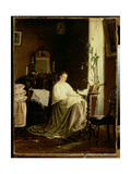 Dreaming of the Future, 1868 Giclee Print by Vasili Maksimovich Maksimov
