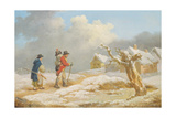 A Soldier's Return Giclee Print by George Morland