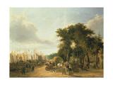 Yarmouth Quay, 1823 Giclée-Druck von George Vincent