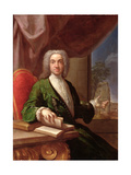 Portrait of Sir Edward Gascoigne, 6th Baronet, 1724 Giclee Print by Francesco Trevisani