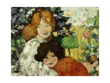 Two Sisters, 1899 Giclee Print by Bessie MacNicol
