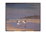 Boulogne Sands, Children Shrimping, 1891 Giclee Print by Philip Wilson Steer