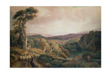 Near Lowther Castle Giclee Print by Peter De Wint