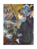 At the Theatre (La Premiere Sortie), 1876-7 Reproduction procédé giclée par Pierre Auguste Renoir