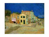 The Yellow House, 1888 Giclee Print by Vincent van Gogh