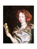 Portrait of a Lady of the Court of Catherine of Braganza, C.1670 Giclee Print by Jacob Huysmans