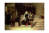 Mary, Queen of Scots (1542-87) Being Led to Execution Giclee Print by Laslett John Pott