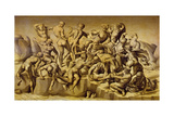 The Battle of Cascina, or the Bathers, after Michelangelo (1475-1564), 1542 Giclee Print by Aristotile da Sangallo
