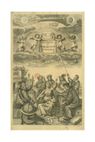 Frontispiece to 'The Celestial Atlas, or the Harmony of the Universe' (Atlas Coelestis Seu… Giclee Print by Frederick Hendrick Van Hove