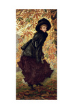 October, 1878 Giclee Print by James Tissot