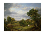 View in Hampshire, 1826 Giclee Print by Patrick Nasmyth