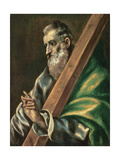 St. Andrew Giclee Print by  El Greco