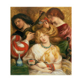 No.1148 Morning Music, 1864 Giclee Print by Dante Gabriel Rossetti
