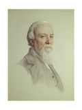 Robert Browning (1812-89), 1881 Giclee Print by Anthony Frederick Augustus Sandys