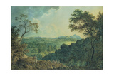View of Edinburgh from Corstorphine Hill Giclee Print by Alexander Nasmyth