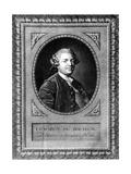 Portrait of Louis Auguste Le Tonnelier (1730-1807), Baron of Breteuil Giclée-Druck von Louis Michel Van Loo
